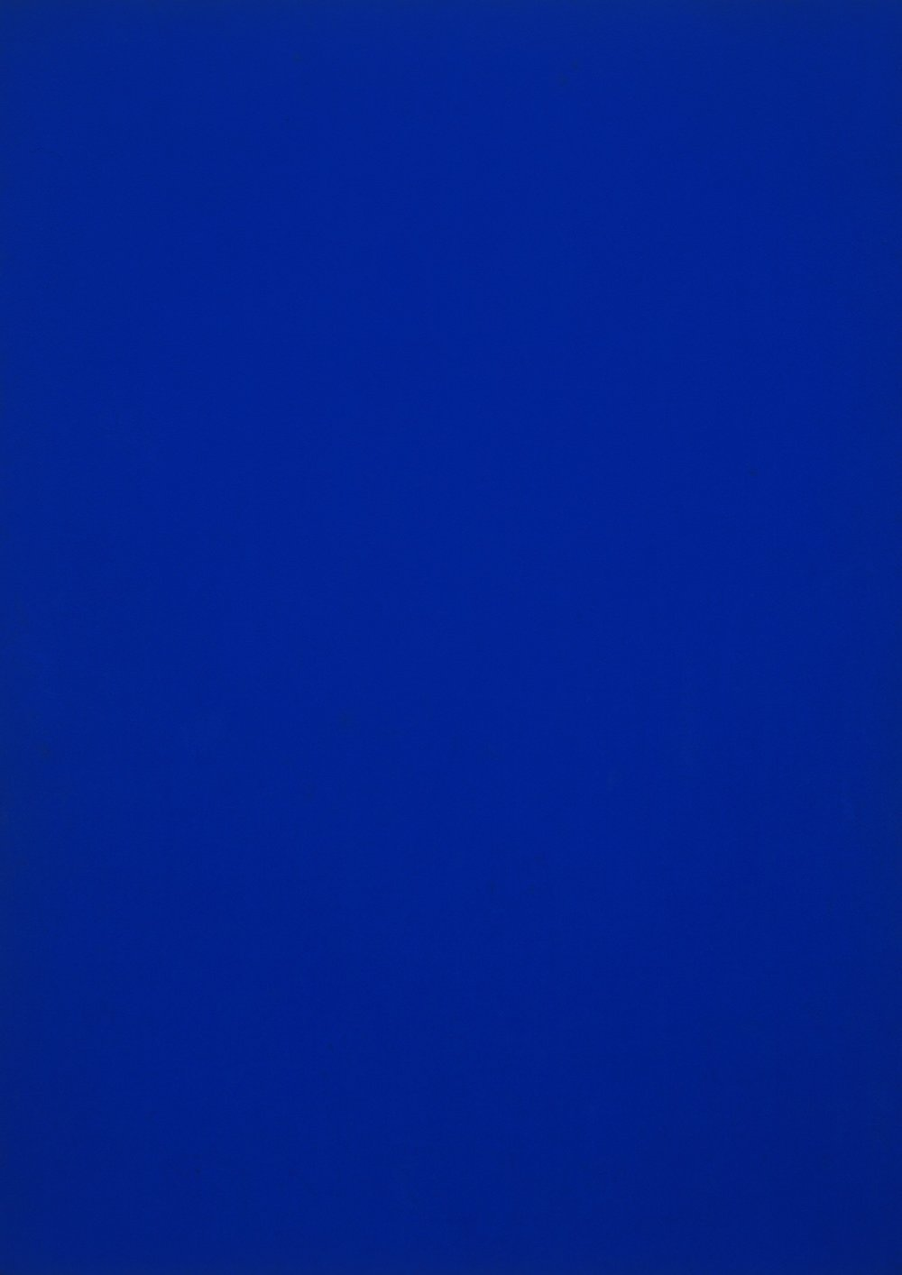 Blue Monochrome (1961) | PC: moma.org