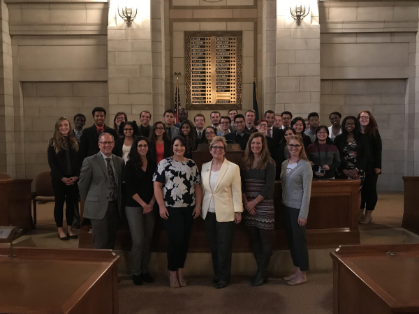 Campus leaders gathered at the state capital to discuss Union's future | PC: Danica Eylenstein