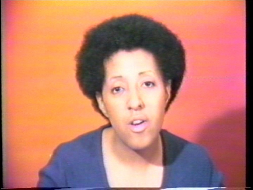 Howardena Pindell in  Free, White and 21 (1980)  | PC: moma.org