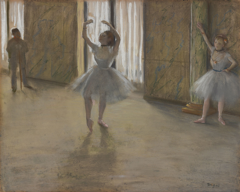 PC: Edgar, Degas, La Leçon de Danse (The Dancing Lesson), c. 1877 | PC: Portland Museum of Art, Maine