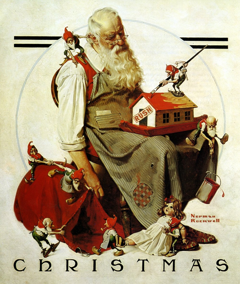 Norman Rockwell | PC: www.libertypuzzles.com