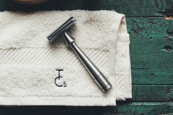 The Mark K Safety Razor - as featured in the Wallpaper* shoot