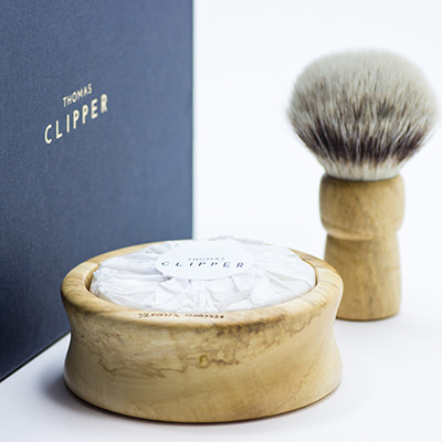 Luxury handmade shaving bowls, soaps and brushes