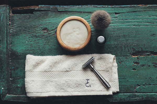 Browse the whole range of handmade grooming products, luxury Italian leather goods and premium colognes that you blend yourself.