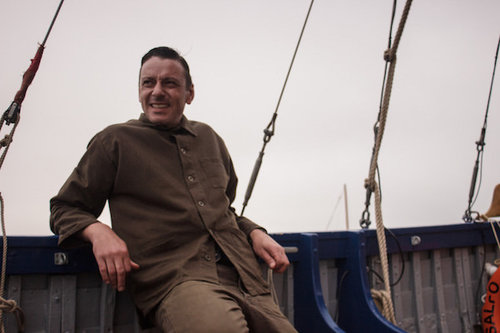 Enzo Cilenti Takes To The High Seas To Promote UNITE The Cologne Collection By Thomas Clipper