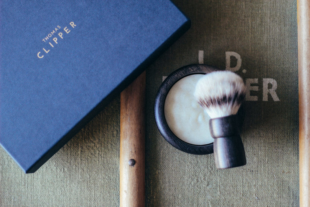 Handmade luxury shave set