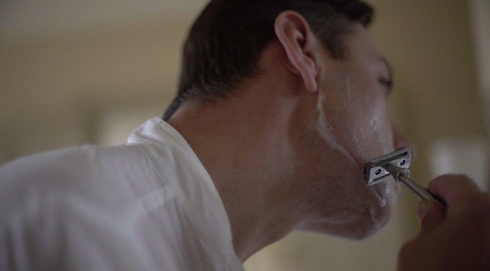 Enzo Cilenti Shaving With Mark K Razor.jpg
