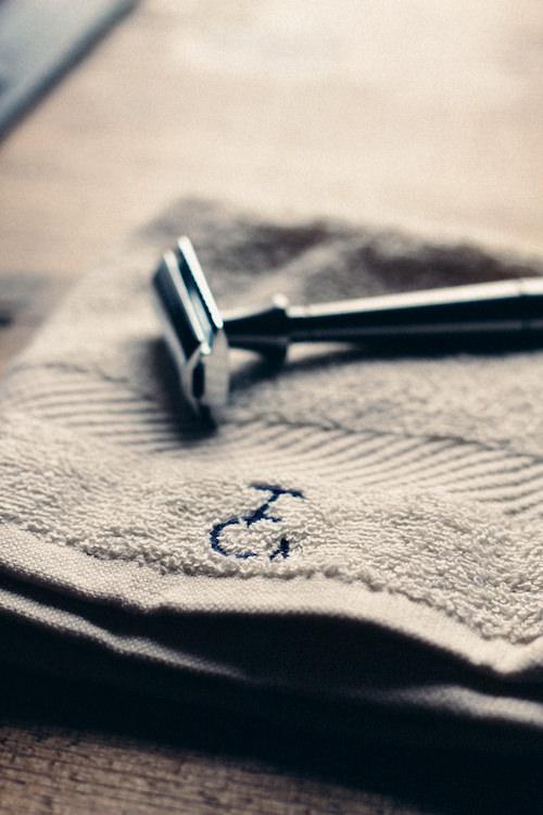 Double edge shaving from Thomas Clipper