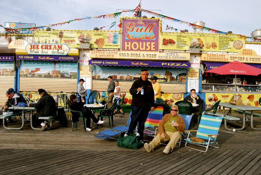 Coney Island, New York. January 2008