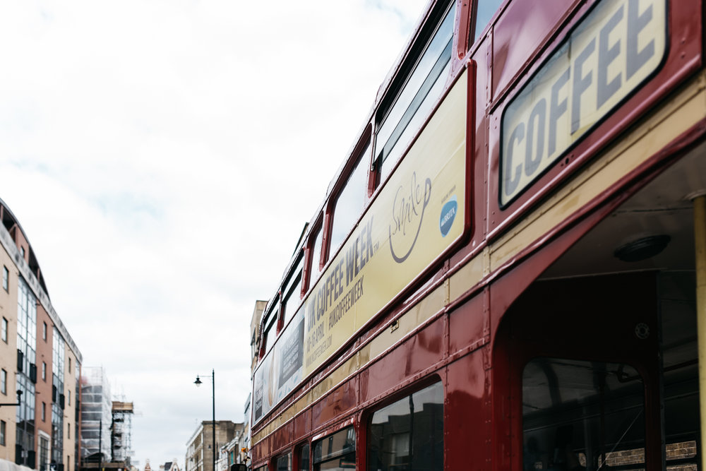 UK Coffee Week Routemaster Bus