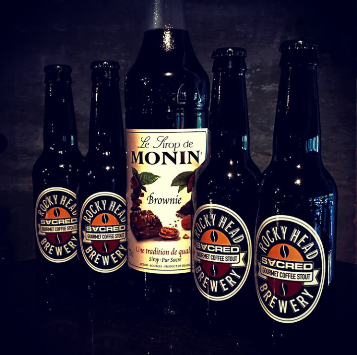 MONIN and SACRED joined together to create four new coffee cocktail recipes. Photo from SACRED