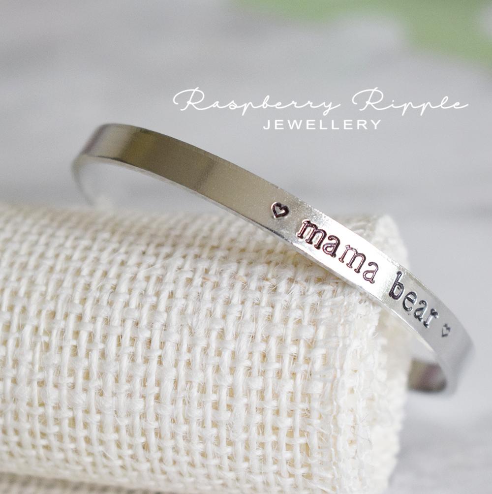 mama bear aluminium cuff bracelet.png