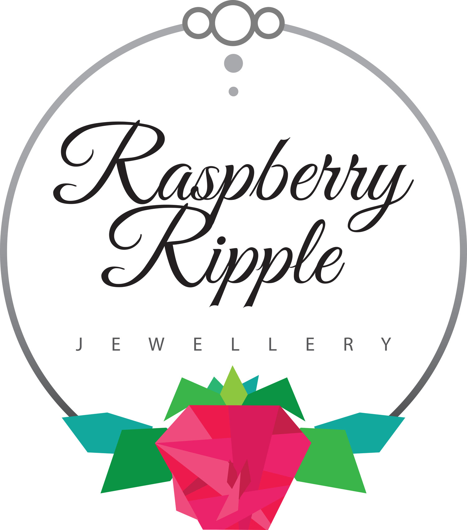 Raspberry Ripple Jewellery | Hand Stamped Jewellery and Keyrings