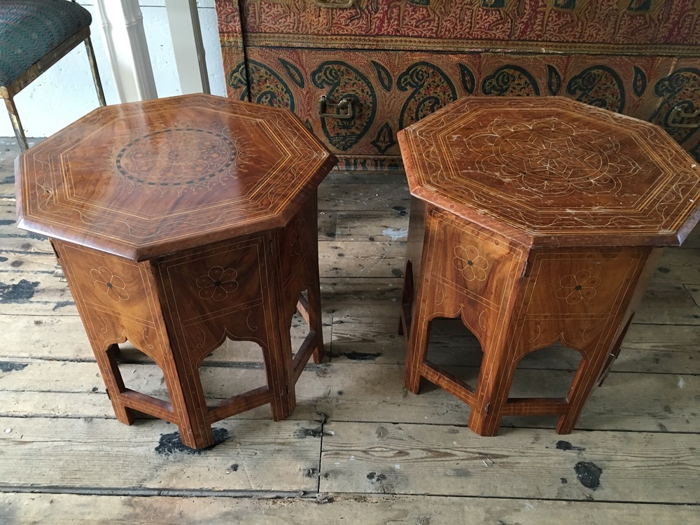 Indian Octagon Side Tables