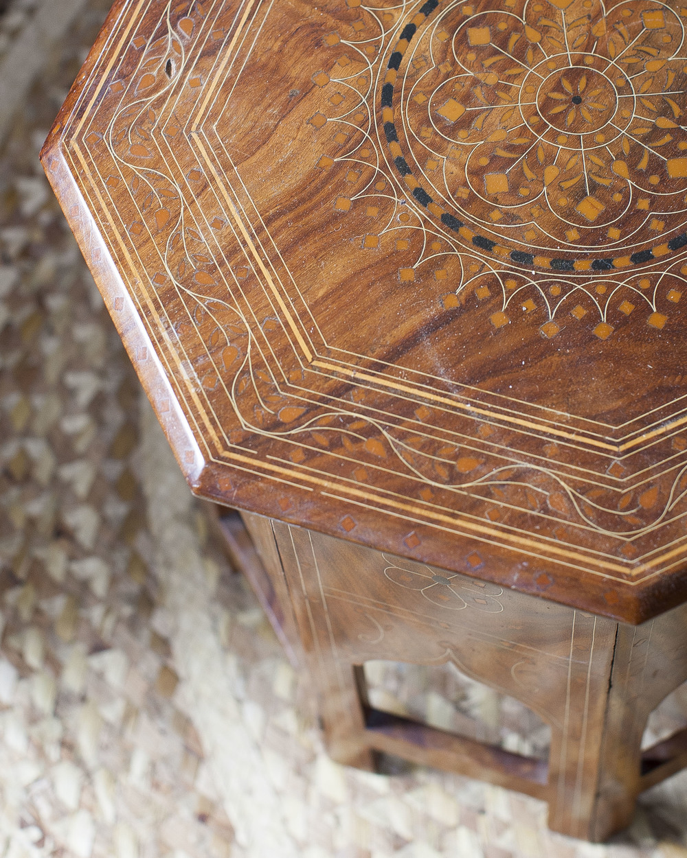 Perfect Indian Octagon Side Tables