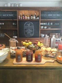 Our breakfast offering at COQ