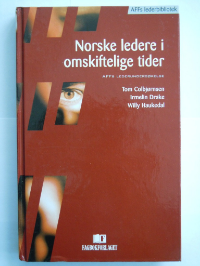 This book,  Norwegian managers in times of change , was based on the first representative survey of Norwegian managers, commissioned by AFF (a leading leadership consultancy in Norway).  Finally, it was possible to talk about Norwegian management in more general and fact based terms, and explore managers' Challenges and Strengths.  The Research team consisted of two professors at the Norwegian School of Economics and myself.