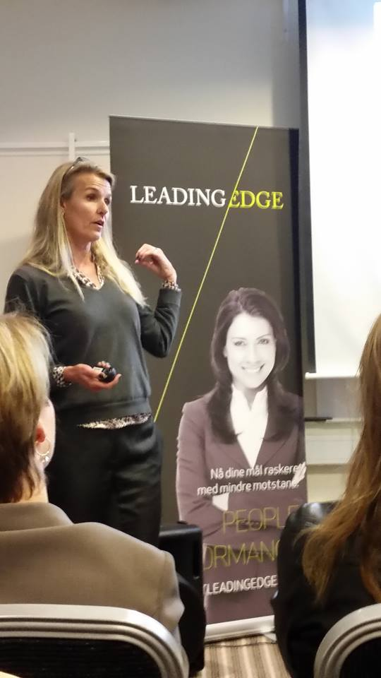 From a recent lecture on Modern Women and Leadership on behalf of Leading Edge's Flying Friday