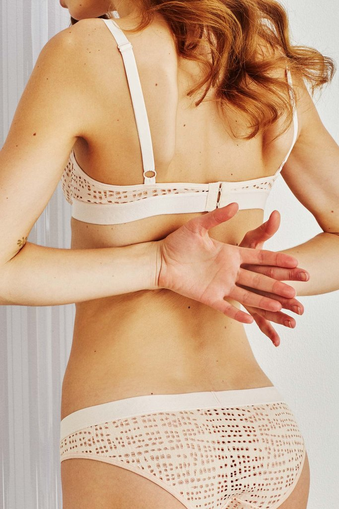 NEGATIVE UNDERWEAR Essaouira bra & brief in nude v1