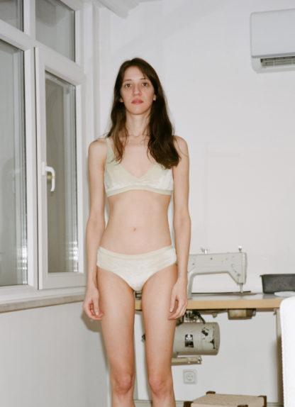 BASERANGE Ebba bra & classic bell pants