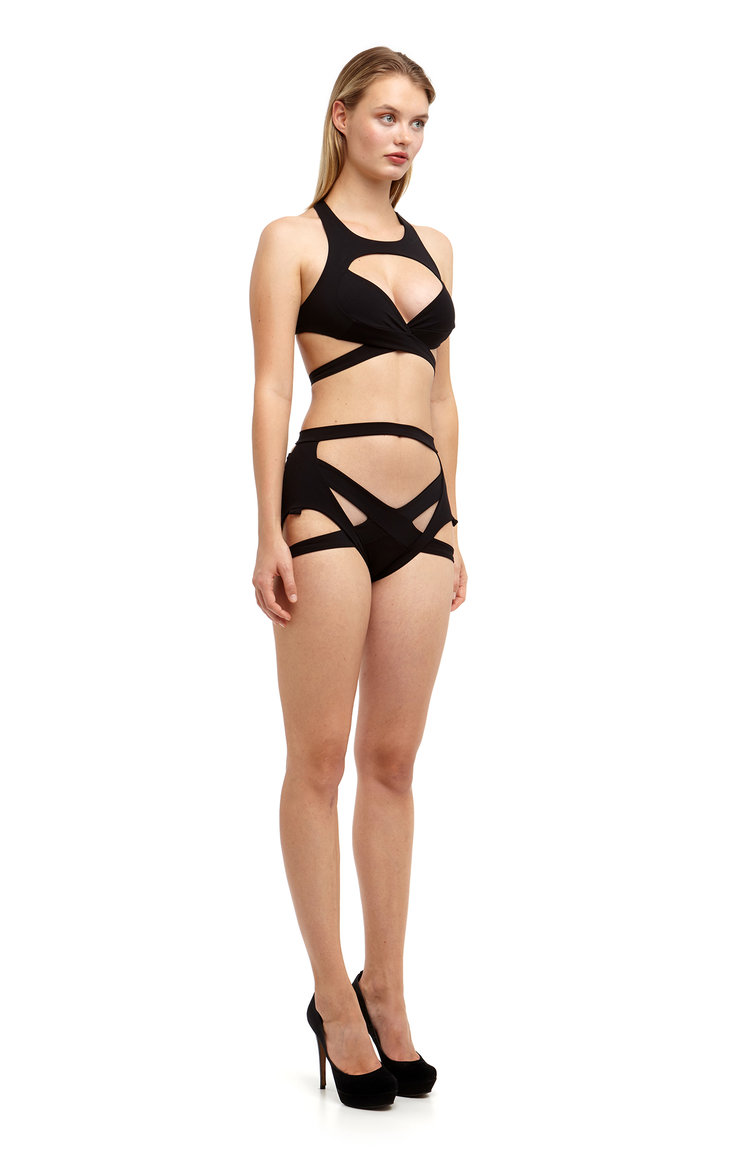 maya suspender belt