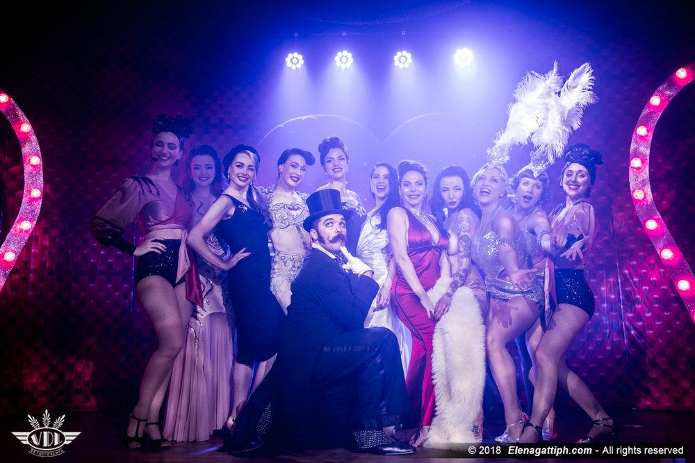 Finale ©Elena Gatti - Royal Burlesque Revue