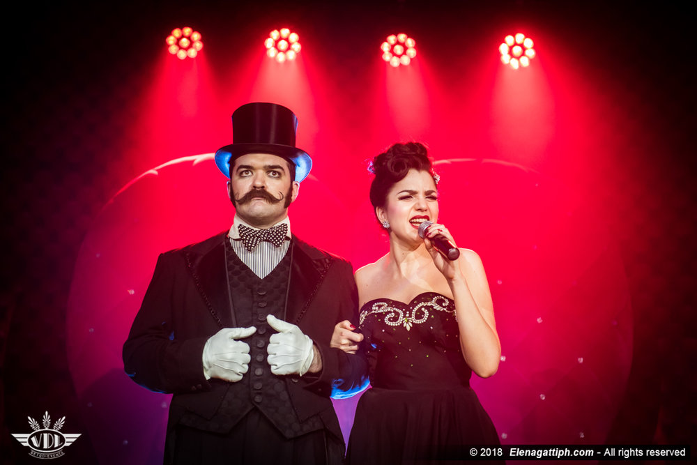 Russell Bruner & lady Flo ©Elena Gatti