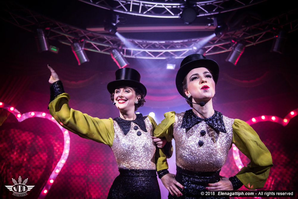 Sin Sara Bin & Tina Topago ©Elena Gatti - Royal Burlesque Revue