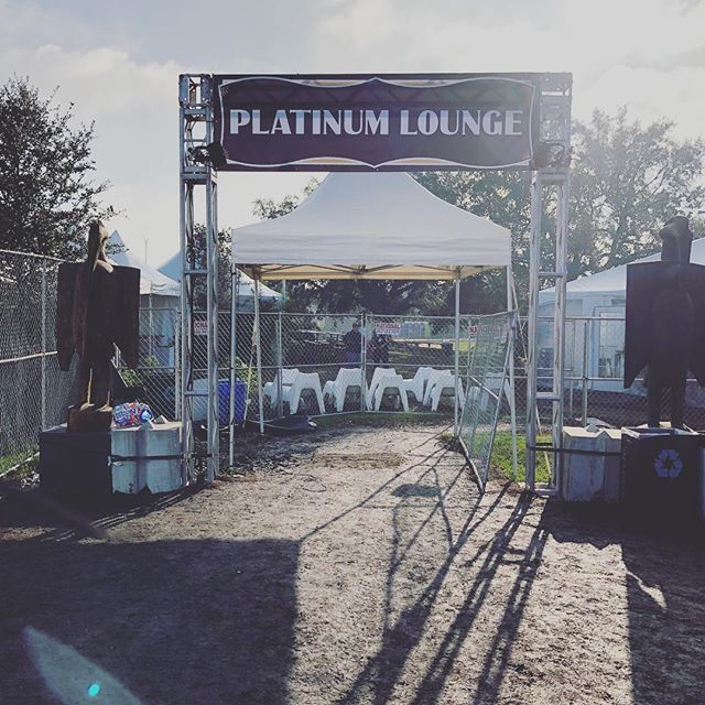 Rocked it being part of the design team for Platinum and VIP areas at the 2018 Voodoo Experience. Beautiful weekend!  #voodoofest #c3presents #vintagerentals
