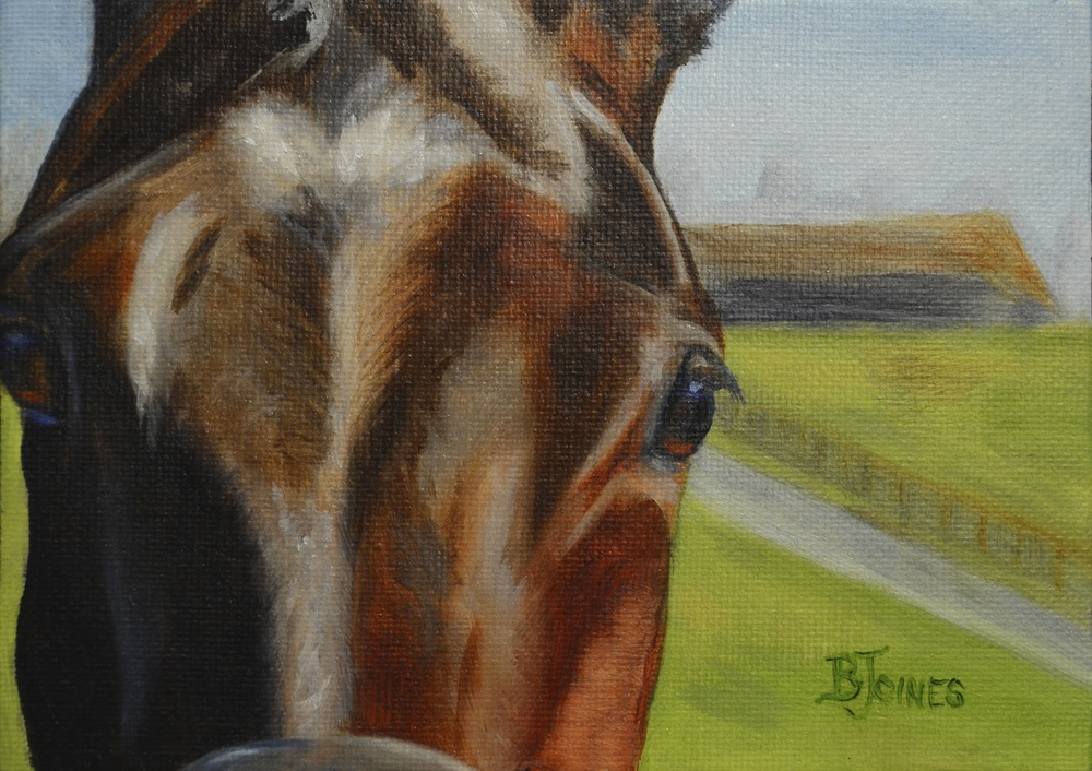5x7in Original Oil Painting on Panel      SOLD