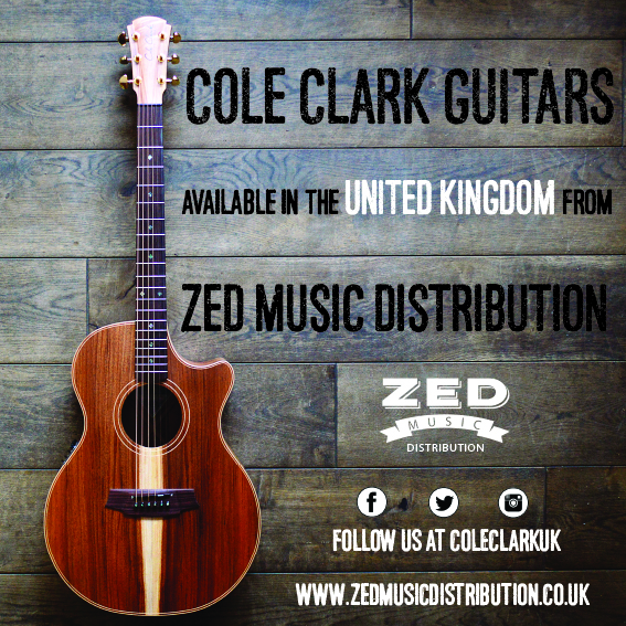 Cole Clark guitar are still available from Zed Music Distribution! Contact us at Zed Music Distribution to get your Cole Clark.