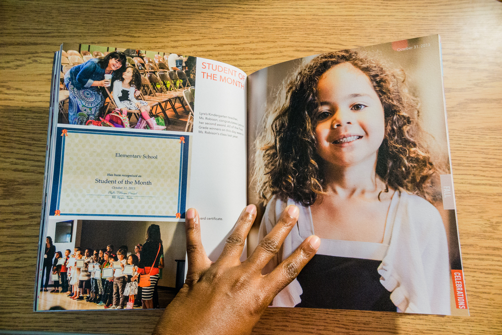 8x10 Blurb photo book | annual family album | yolandamadethis.com