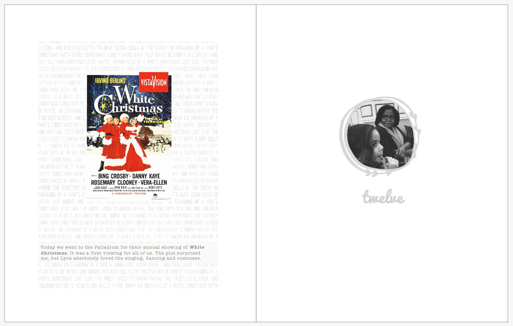 December Daily 2014 photo book | White Christmas at the Palladium Carmel, IN | yolandamadethis.com