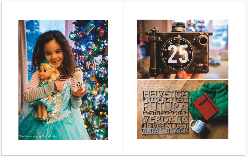 December Daily 2014 photo book | Christmas Day | yolandamadethis.com
