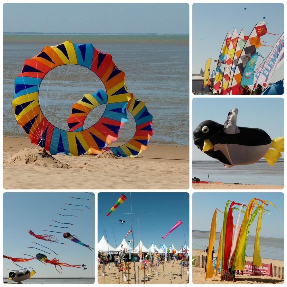 Festival du cerf volant et du vent -   Châtelaillon - Plage