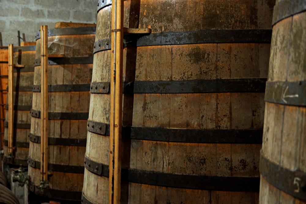 Cognac distillery Balluet, Neuvicq