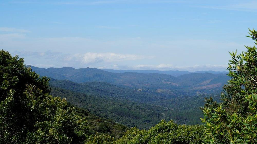Vista para Serra do Mar