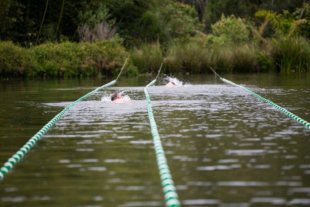 Raia 50m no Lago