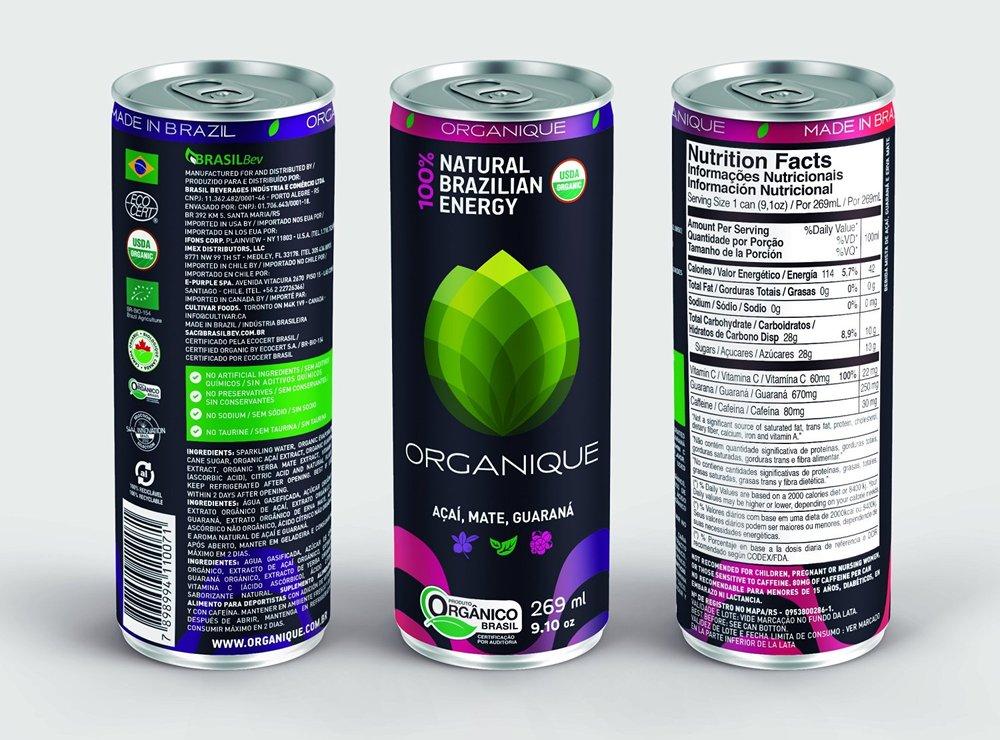 Organique Energético orgânico