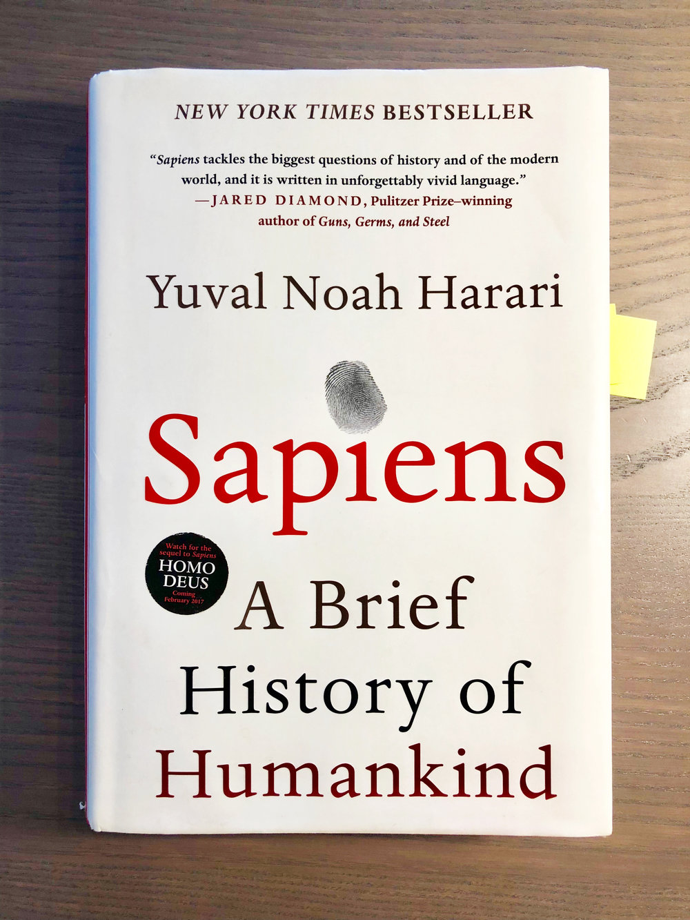 While I have a tendency to binge-read a book I find particularly interesting, I took my time digesting  Sapiens . I consider Harari's look into the past essential reading for humanity.