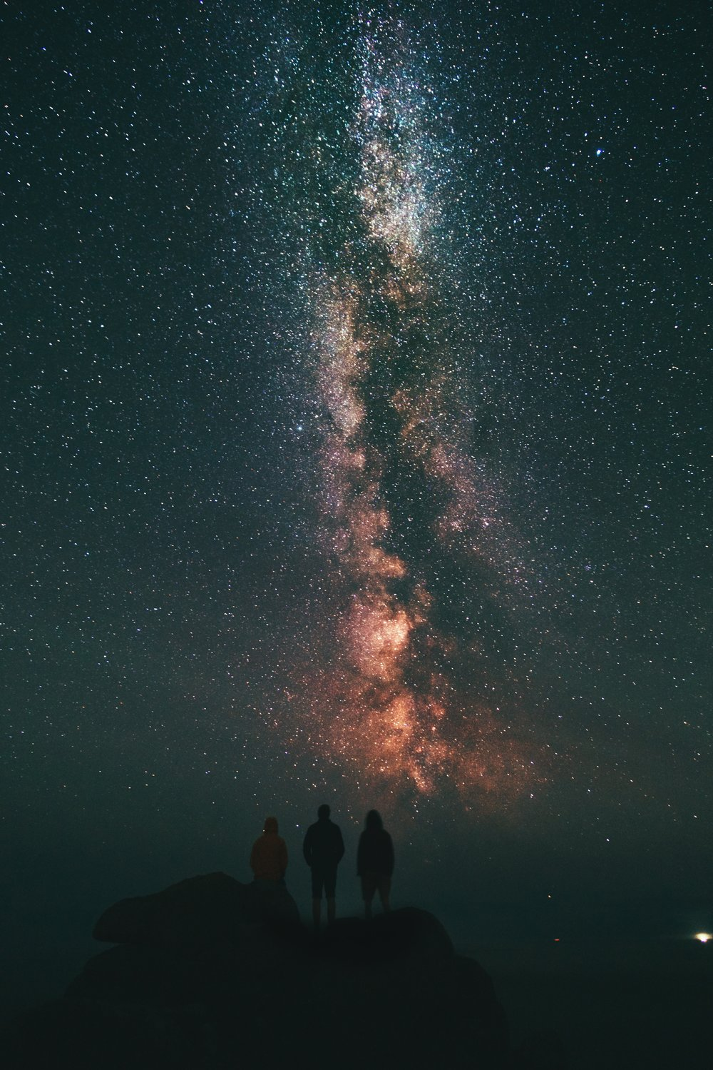 How humbling to imagine the millions upon millions of stories both told and written under these very stars. Photo by  Benjamin Davies  on  Unsplash