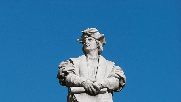 Columbus (her)ontdekte Amerika