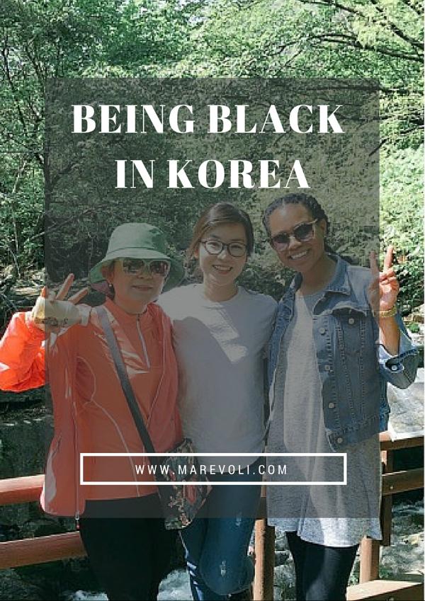 Being Black in Korea - MAREVOLI