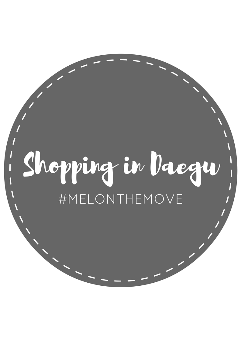 VLOG: Shopping in Daegu - MAREVOLI