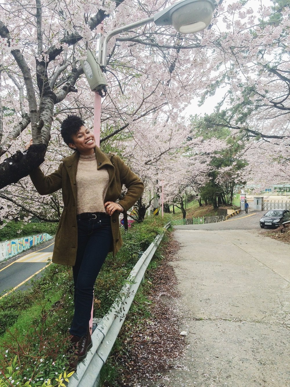 My first spring in Korea. Oh the memories.