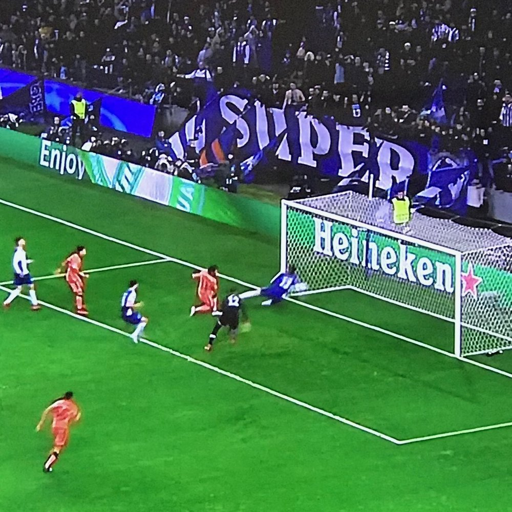 Mo Salah's incredible goal against Porto.