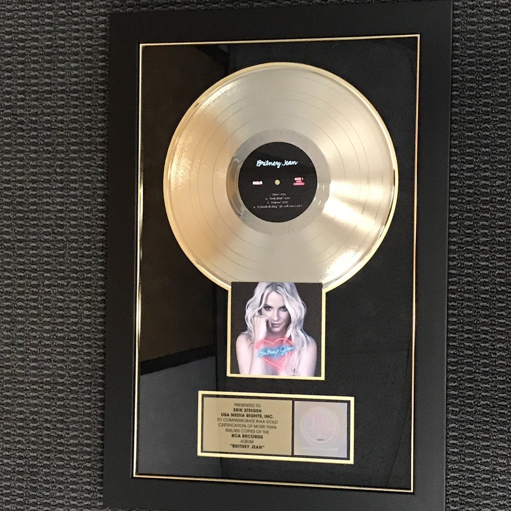 Britney Spears BritneyJean album plaque.jpg