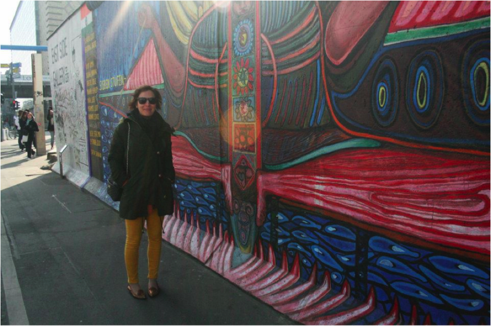 Berlin Wall, Berlin, Germany; March 2012; Photo by Pamela Afram