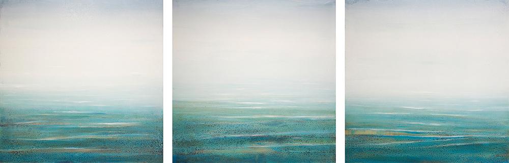 Ocean Mist Triptych