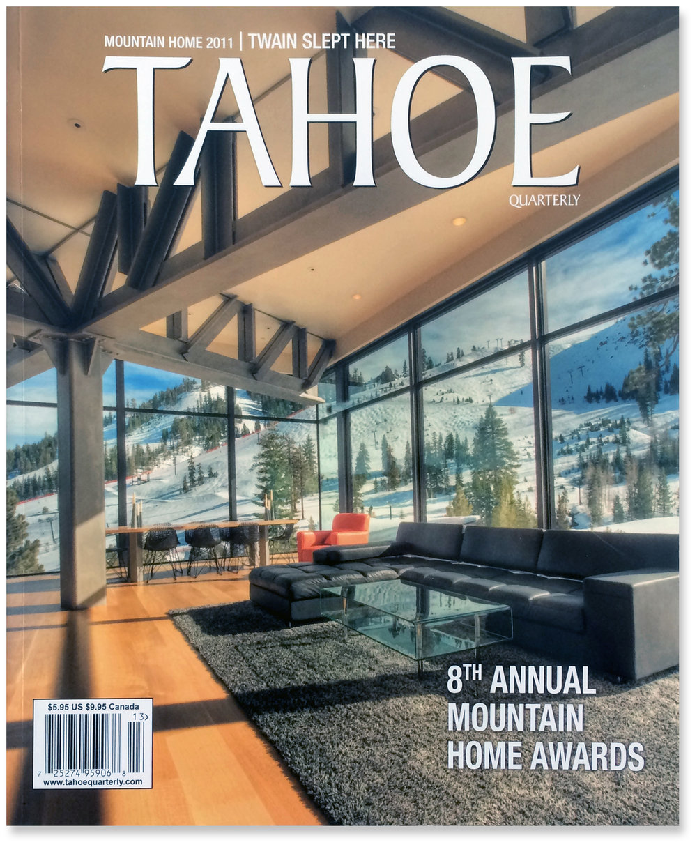 Tahoe Quarterly / Modern Home of the Year — STRAWN + SIERRALTA